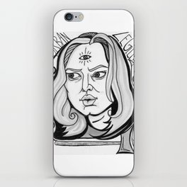 Final Girl: Natalie Simon from Urban Legend iPhone Skin