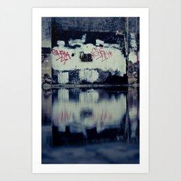 Urban Graffiti #2 Art Print