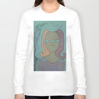third eye Long Sleeve T-shirts featuring THIRD EYE by Kathead Tarot/David Rivera