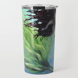 Calypso Nude Mermaid Underwater Travel Mug
