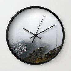 Mist Norway Wall Clock