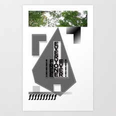 FREE EVERYONE EVER Art Print