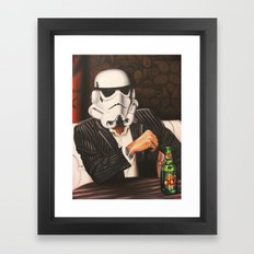The Most Interesting Trooper in the Galaxy Framed Art Print