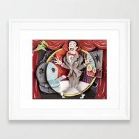 pee wee Framed Art Prints featuring Pee-Wee by Erin Maala
