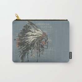 American Heritage (Dark) Carry-All Pouch