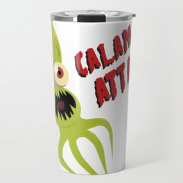 Calamars Attack Travel Mug
