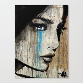 BLUE HUNGER Canvas Print