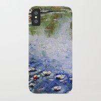 monet iPhone & iPod Cases featuring Missing Monet by Olya Krasavina