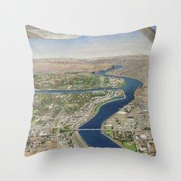 Tsceminicum Flight Throw Pillow