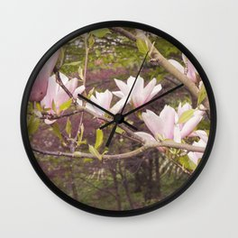 Pink Melodies Wall Clock