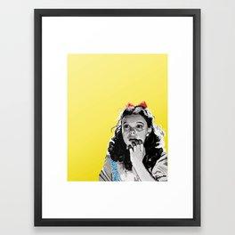 Follow! Framed Art Print
