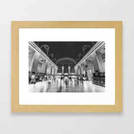 Grand Central Station in New York City Framed Art Print
