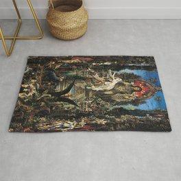 Gustave Moreau - Jupiter and Semele Rug
