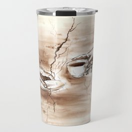 The Creation of Coffee Travel Mug