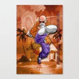 Master Roshi Dragon Ball Canvas Print