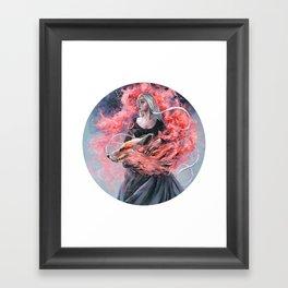 DragonFox Framed Art Print