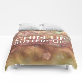 Chin Up Buttercup Comforters