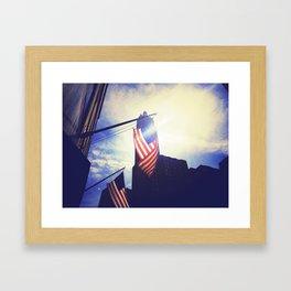 Patriotic Framed Art Print