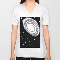 cosmic V-neck T-shirts featuring cosmic  by Dal Sohal