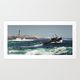 Cresting the Wave Art Print
