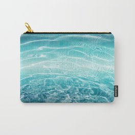 Blue Ocean Dream #1 #water #decor #art #society6 Carry-All Pouch