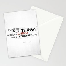 Philippians 4:13 II Stationery Cards