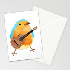 music bird Stationery Cards