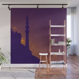Purple Mosque Wall Mural