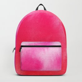 Watercolor Pink Backpack