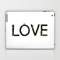LOVE in bloom Laptop & iPad Skin