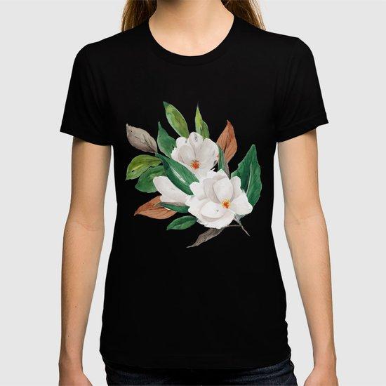 White Magnolia Bouquet I by faithokpukpan
