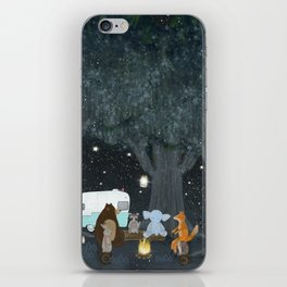 camping time iPhone Skin