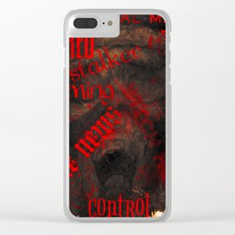 Social Media Hell Clear iPhone Case