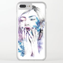 Miss Sprout Clear iPhone Case