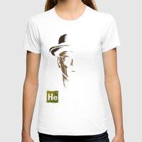 heisenberg T-shirts featuring Heisenberg by Caroline Fogaça