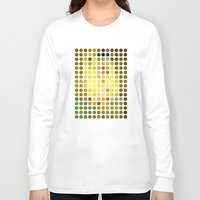 gustav klimt Long Sleeve T-shirts featuring Gustav Klimt Remixed (2009) by Gary Andrew Clarke
