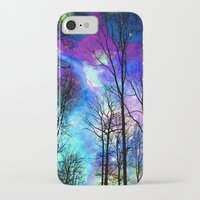 decal iPhone & iPod Cases featuring fantasy sky by haroulita