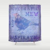 motivation Shower Curtains featuring Motivation by LebensART