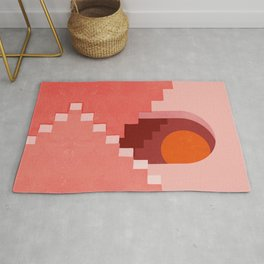 Abstraction_SUN_Architecture_Minimalism_001 Rug