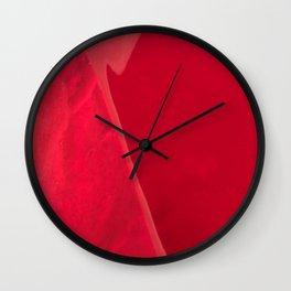 Gemstone_January_Garnet_B Wall Clock