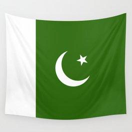 Pakistan flag emblem Wall Tapestry