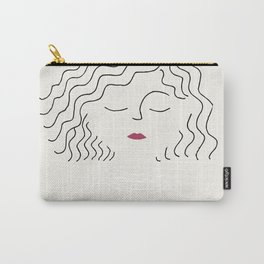 Sophie in white dress Carry-All Pouch