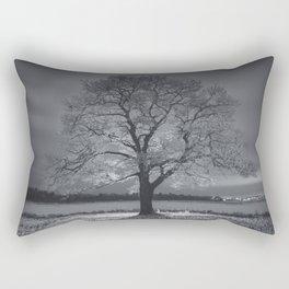 Coated in Winter Rectangular Pillow