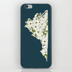 Virginia in Flowers iPhone & iPod Skin