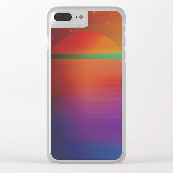 Astral Horizon 2 Clear iPhone Case