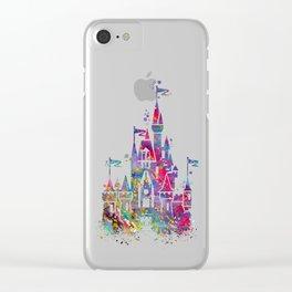 Princess Castle Clear iPhone Case