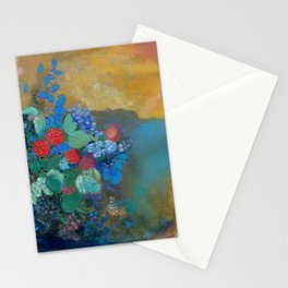 "Odilon Redon ""Ophelia among the Flowers"" Stationery Cards"