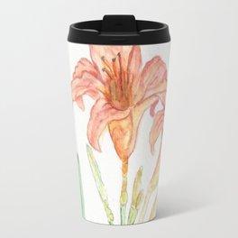 Hemerocallis (Day Lily) Travel Mug