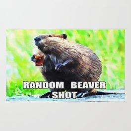 Random Beaver Shot Rug