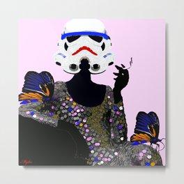 Stormtrooper Diva:  I Don't Mad I Get Even Metal Print